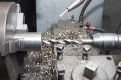 Metal workshop Stock Photography
