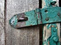 Metal y madera Foto de archivo