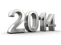 Metal year 2014 Stock Images