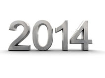 Metal year 2014 Stock Photo