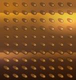 Metal złocista tekstura Fotografia Royalty Free