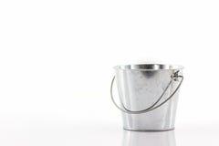 Metal zinc bucket. Stock Images