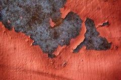 Metal Zrudziała tekstura zdjęcie stock