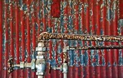 metale rdzewiejący Obrazy Stock