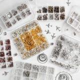 Metales para las joyas fotografía de archivo libre de regalías