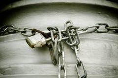 Metali łańcuchy Fotografia Stock