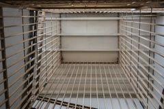 metali bary w więźniarskich schodkach, dolny widok obrazy royalty free