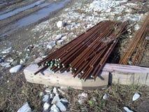 Metali dopasowania dla zbrojonego betonu Obraz Royalty Free