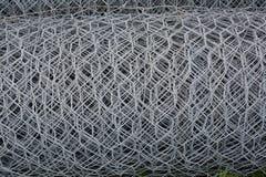 Metali drutów sieci rolka zdjęcia royalty free