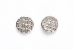 Metali gwoździ głowy obraz royalty free