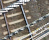 Metali kable Obrazy Royalty Free