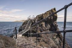 Metali kroki cypel przy Północnym Berwick Zdjęcie Royalty Free