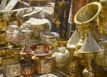 Metali naczynia Obrazy Stock