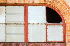 Metali okno zdjęcia royalty free