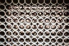 Metali okregów wzór wśrodku maszyny, Obrazy Stock