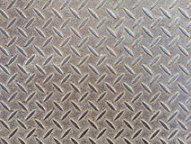 Metali podłogowi talerze dla tła fotografia stock