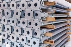 Metali poparcia dla budowy formwork obrazy stock
