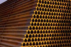 Metali poręcze obraz stock