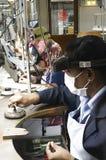 Metali pracownicy fabryczni Fotografia Stock