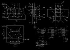 Metali projekty budowa plan ilustracja wektor
