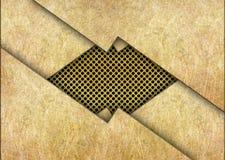 Metali prześcieradła tło dla projekta, brąz lub mosiądz, ilustracji