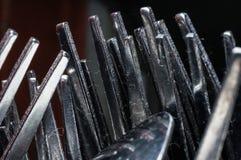 Metali rozwidlenia Fotografia Royalty Free