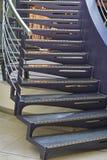 Metali schodki Zdjęcie Royalty Free