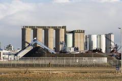 Metali silosy Obraz Stock