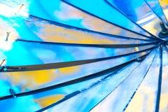 Metali skrzydła Fotografia Royalty Free
