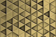 Metalic background with metalic triangles and shadows stock photos