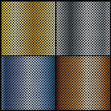 Metalic backgrounds Royalty Free Stock Images