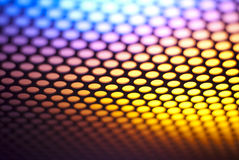 Metalic backlit shinny background Stock Photos