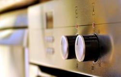 Metalic oven Stock Photo