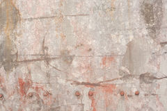 Metalic wall Stock Image