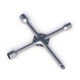 Metalic wheel replacement tool Stock Image