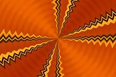 metalicznej abstrakcyjna pomarańcze Zdjęcia Royalty Free