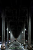 Metalique-Brücke Lizenzfreie Stockbilder