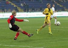 metalist αγώνων ποδοσφαίρου kharkiv lutsk vol Στοκ Εικόνες