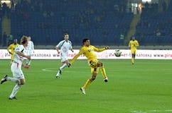metalist αγώνων ποδοσφαίρου kharkiv lutsk vol Στοκ Φωτογραφίες
