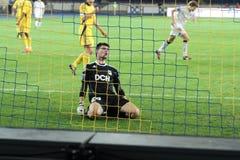 metalist αγώνων ποδοσφαίρου krivbass &epsilon Στοκ Εικόνες