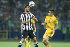 METALIST CONTRE LE PAOK Images stock
