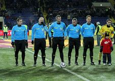 Metalist - Debreceni UEFA football match Royalty Free Stock Photo