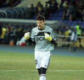 Metalist - Debreceni UEFA football match Stock Images