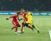 Metalist - Debreceni UEFA-Fußbalabgleichung Stockbild