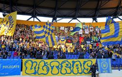 Metalist fans Royalty Free Stock Photography