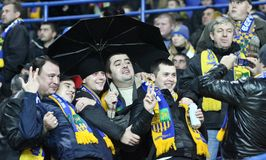 Metalist fans Stock Photo