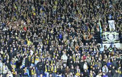 Metalist fans Stock Image