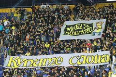 Metalist fans Stock Photography