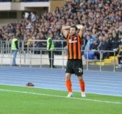Metalist Kharkiv contra o fósforo de futebol de Shakhtar Imagens de Stock Royalty Free