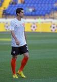 Metalist Kharkiv contre le match de football de Shakhtar Photographie stock libre de droits